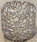 Vase, Aluminum Squiggle-Acc400