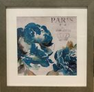 A51cc-Blue Peony, Silver Frame, Part 2 of 2