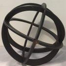 Decorative Sphere, Black Iron-Acc605