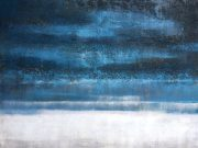 A100c-Blue & White Horizon Canvas