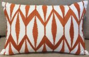 TC26-Orange, Flame Stitch Design