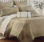 BK12-King Coverlet, Circle Motif