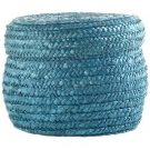 Decorative Basket, Teal Woven-Acc903