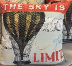 """TC33-""""The Sky is the Limit"""", Toss Cushion"""
