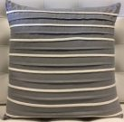 TC41aa-Grey & White, Horizontal Stripes