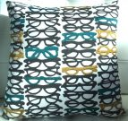 TC102-Spectacles, Teal, Mustard & Black