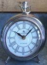 Clock, Antique Silver, LRG – Acc139
