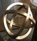 Decorative Sphere, Gold -Acc150b