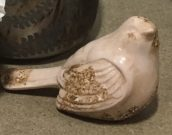 Decorative Bird, Rustic Blush-Acc84
