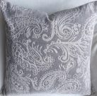 TC90c-Grey & Cream Paisley, Soft