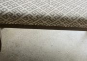 OB17a-Slender Bench, Greek Key Pattern