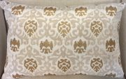 TC87d-Damask Beige & Gold, Lumbar