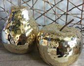 Apple & Pear Set, Gold – Acc005a