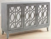 OTC05a-Vintage Grey Wash, Mirrored Console