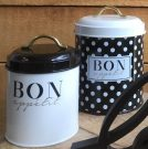 Kitchen, Canister Set polka dot-Acc30a