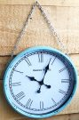 Clock, Wall Clock w/chain-Acc428a