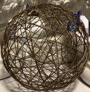 Decorative Sphere, Gold Mesh Ball-Acc150c