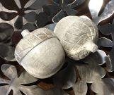 Decorative Acorns, Set of 2-Acc56a