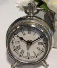 Clock, Antique Silver, Sm – Acc403a