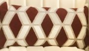 TC78b-Rust & White, Geometric Pattern