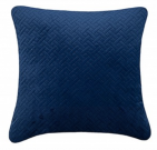 TC89ac-Navy Blue Velvet, Crosshatch