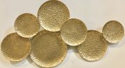 A49b-Gold Textured Metal Plates