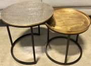 OT65-Pr. of Metal Nesting Tables