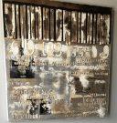 A58-Textured Canvas, Piano Keys