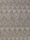AR21a-Grey Jute, Diamond Pattern, 5X7