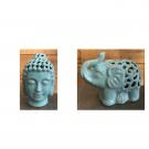 Decorative Elephant, Buddah Set-Acc011e