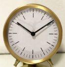 Clock, Round, Gold Finish-Acc508c