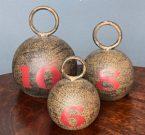 Decorative Kettle Bells, Set of 3-Acc425b