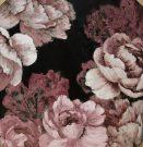 A134b-Pink & Black Botanical, Fleurist