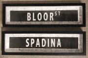 A126a-Pr. Spadina & Bloor Street Signs