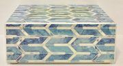 Box, Blue & White Pearl-Acc143aa