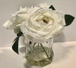 PL50e-Roses in Geometric vase