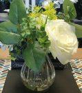 PL50aa-Spring Bouquet in curvy vase