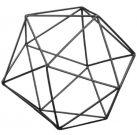 Decorative Sphere, Wire Black-Acc046b