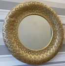 M04a-Gold Metal, Filigree Frame LARGE