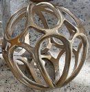 Decorative Sphere, Gold Bracelet-Acc150e
