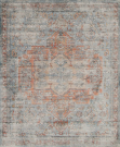 AR0-a, Distressed Bahama Rug, 5 x 7