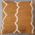TC000b-Caramel & White, Tribal Pattern