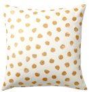 TC000c-White & Gold, Leopard Polka Dots