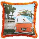 TCO0992-Surfing Vibe, Orange & Aqua