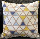 TCO0988-Blue & Yellow,  Triangles