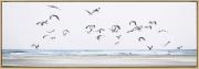 A140aa-Flock of Seagulls, Framed