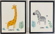 A124d-Pr. of Nursery Prints, Framed